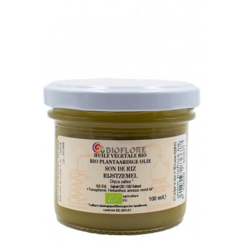 Plantaardige bio Rijstzemelolie met vitamine E