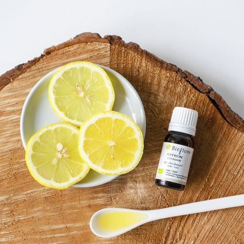 Huile essentielle de citron...